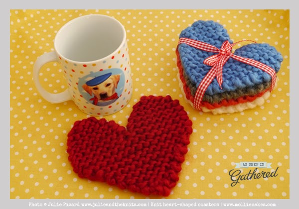 http://www.molliemakes.com/projects/free-knitting-pattern-heart-shaped-coasters/