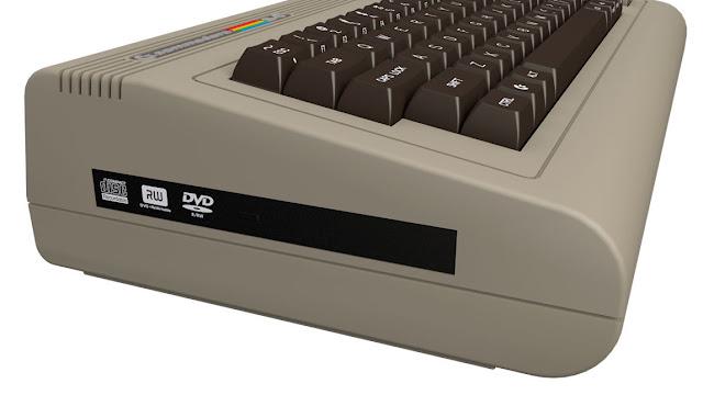 nuovo Commodore 64 - lettore DVD/Blue Ray