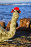 Fee Dinosaur crochet pattern Crochet the Loch Ness Monster