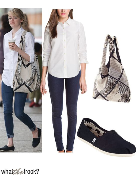 Free To Be Me Airport Style Emma Stone