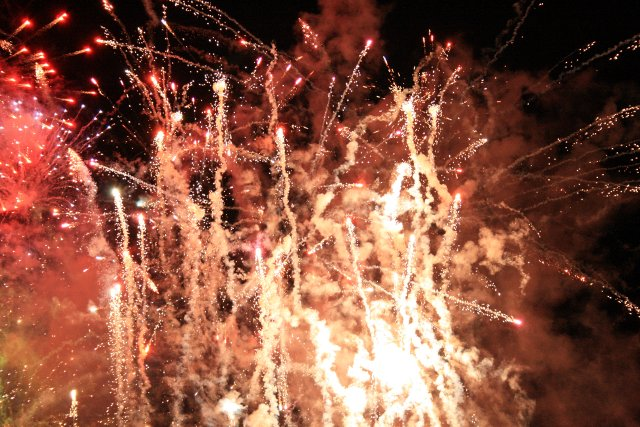Universal Studios Singapore fireworks