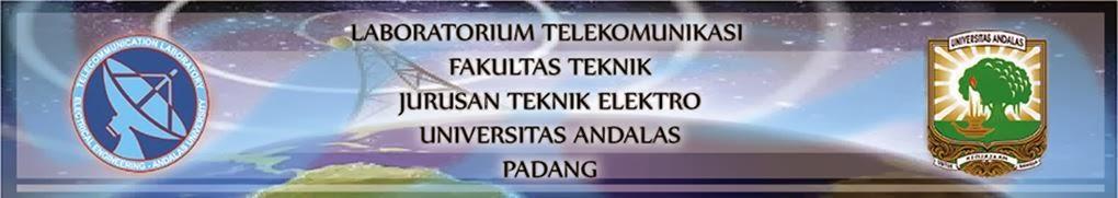 LABORATORIUM TELEKOMUNIKASI                       UNIVERSITAS ANDALAS