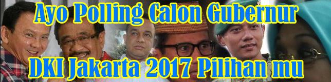 Polling Calon Gubernur DKI