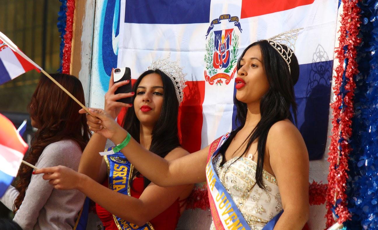 Desfile de la hispanidad de Manhattan, Nueva York 2014 - Reina dominicana