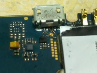 blackberry 8520 usb point ways