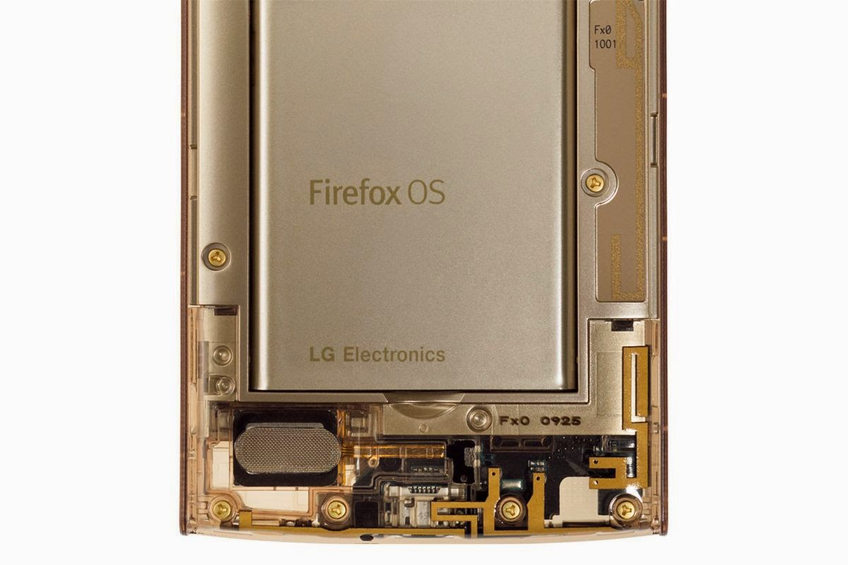 هاتف ذكي وشفاف من إل جي بنظام Firefox OS