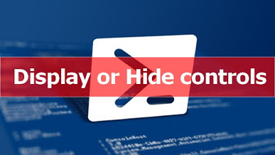 Next post: PowerShell & WPF - Display or Hide Controls
