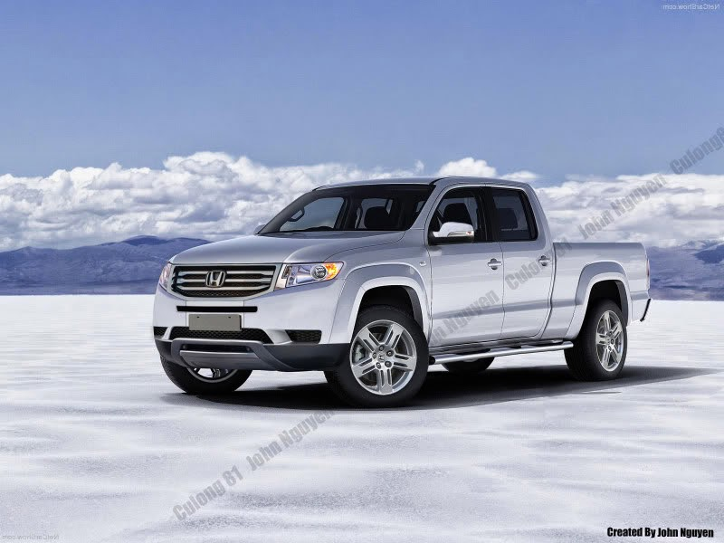 I Have To Say, Very Good Looking Rendition On The Honda Ridgeline, And  Based Upon The Teaser Outline From Honda Released Earlier In The Year, ...
