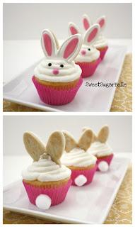 cupcake orecchie coniglio pasqua