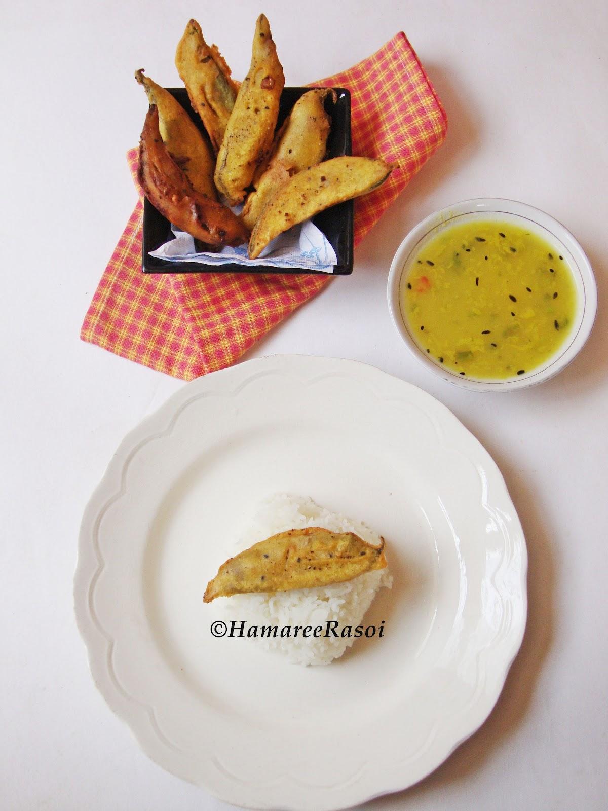 Hamaree rasoi: Stuffed Hyacinth Beans Fry - Pur Diye Sheem Bhaja