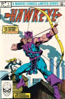 http://marvel.wikia.com/Hawkeye_Comic_Books