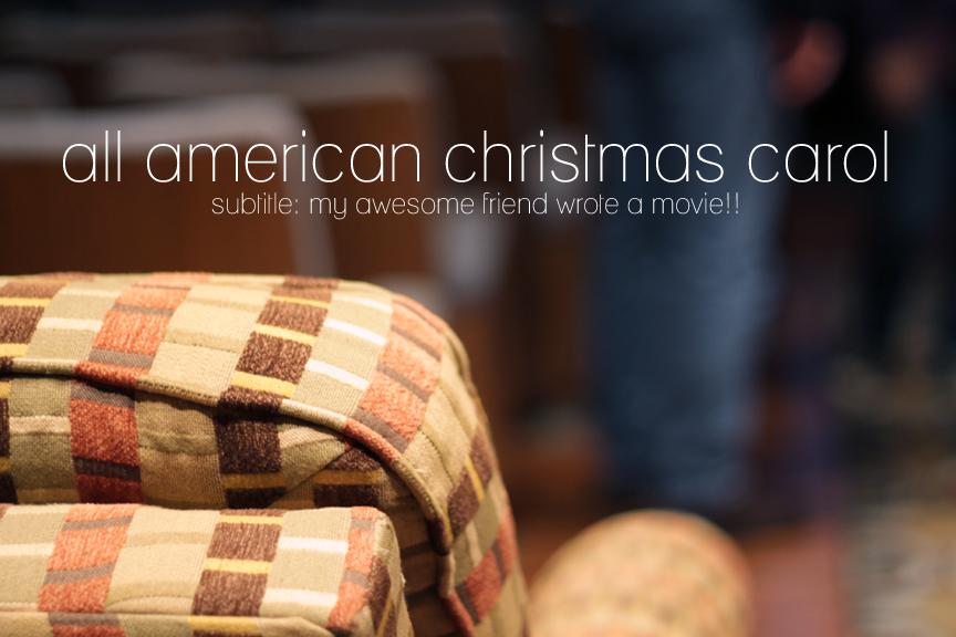 all american christmas carol movie premiere - American Christmas Carol