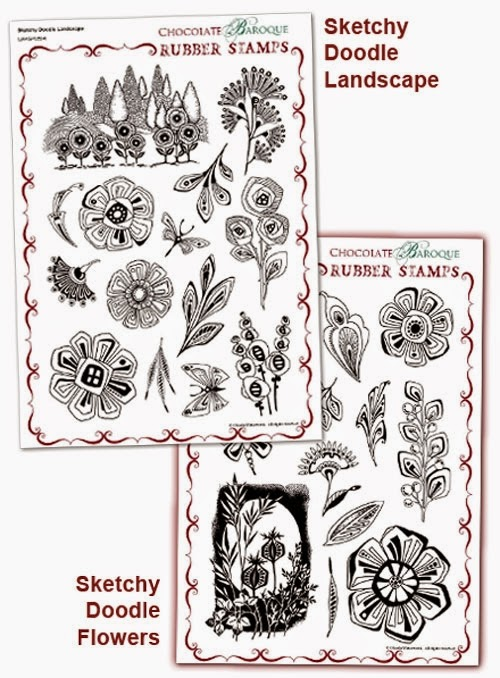 http://www.chocolatebaroque.com/sketchy-doodle-landscape-flowers-multi-buy-a4.html
