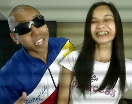 'Amalayer' Paula Jamie Salvosa with Mikey Bustos in Opo Pinoy Style (Gangnam Pinoy Version)