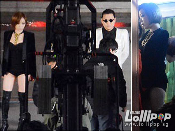PSY Gentleman mv filming 3