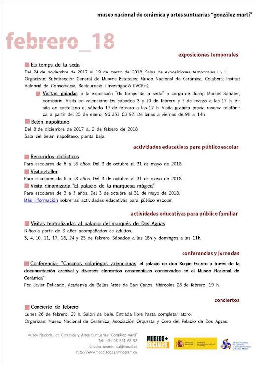 ACV 06 MUSEO GLEZ MARTÍ (01 al 28 de Febrero de 2018)