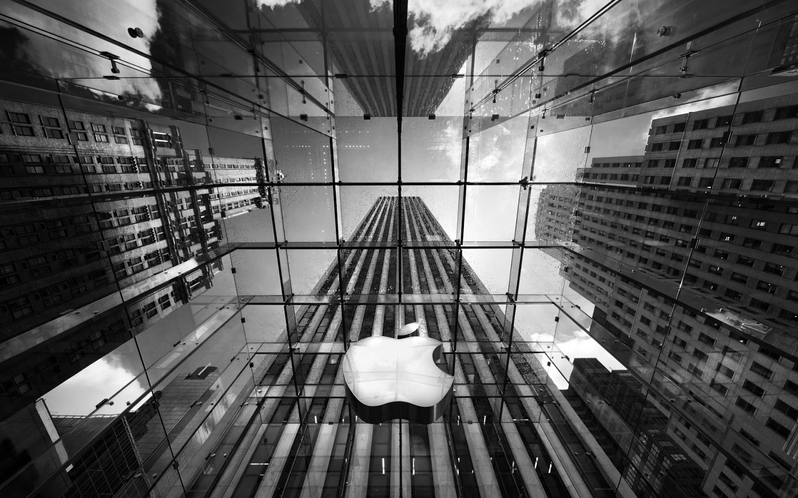 Big Apple Glass Building