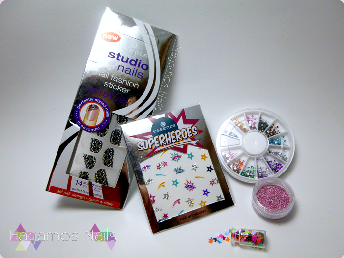 Ganador del Sorteo de Just a Nailaholic!. Stickers. HAGAMOS NAILS