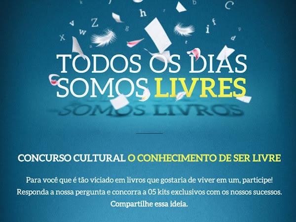 Concurso Cultural da Novo Conceito: O Conhecimento de Ser Livre