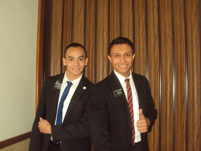 Elder Haynie and Elder Villalobos