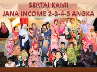 JANA INCOME 3-4-5 ANGKA SEBULAN