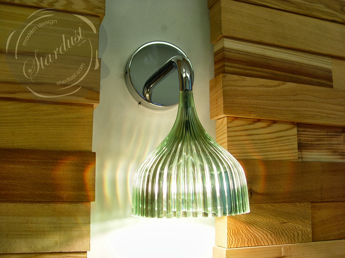 E pendant lamp crystalclear stardust moderndesigninterior shop stardust for the kartell e wall lamp by kartell and the best in modern wall sconces and modern lighting plus 110 price match guarantee free aloadofball Images