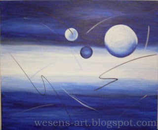 Balls in Blue    wesens-art.blogspot.com