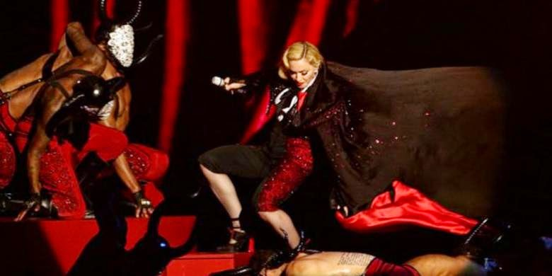 Madonna dropped on the level of the British Prizes 2015