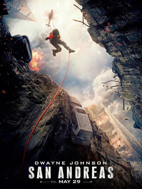 """Dwayne Johnson en """"Terremoto: La Falla de San Andrés""""."""
