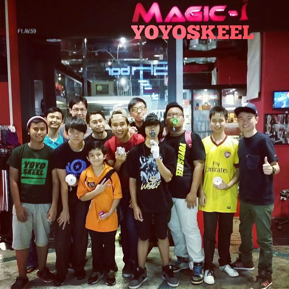 YOYO GATHERING IN MAGIC-i YOYOSKEEL SUNWAY PYRAMID