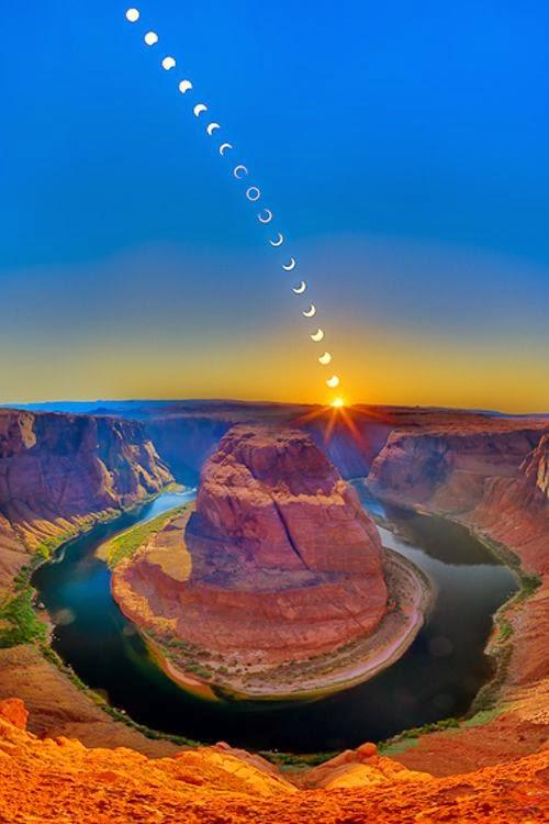 Ring of Fire - Horseshoe Bend Williams Arizona USA
