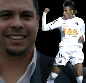 Neymar es Recomendado por Ronaldo