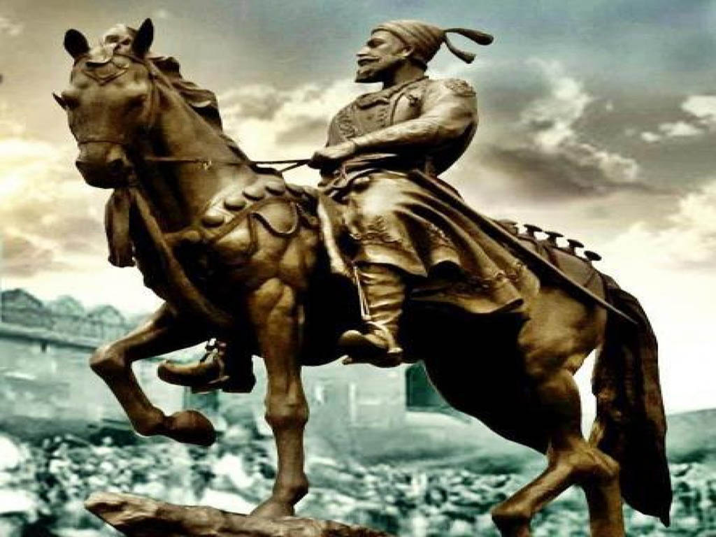 Hd wallpaper shivaji maharaj - Shivaji Maharaj Statue Hd Wallpaper