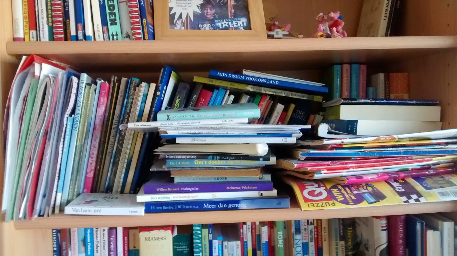 Een opgeruimd huis in 365 dagen dag 43 44 45 weer een stukje boekenkast aangepakt - Kast voor het opslaan van boeken ...