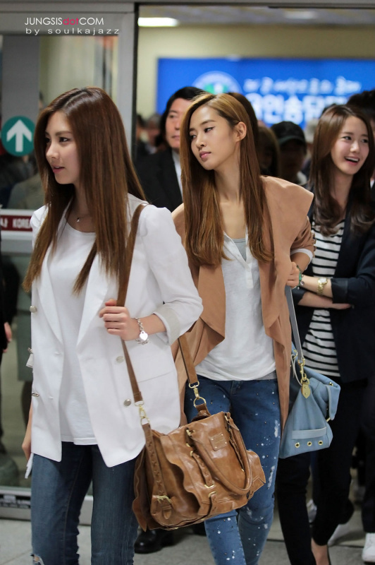 Rainbow Colored Life Airport Fashion Of Snsd