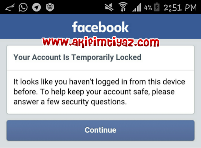Bila Facebook Di Ceroboh Makhluk Asing