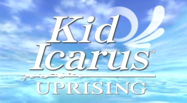 Kid Icarus Upring title logo 3ds handheld video game