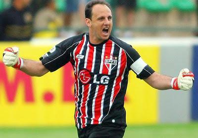 Rogério Ceni completa mil jogos no São Paulo