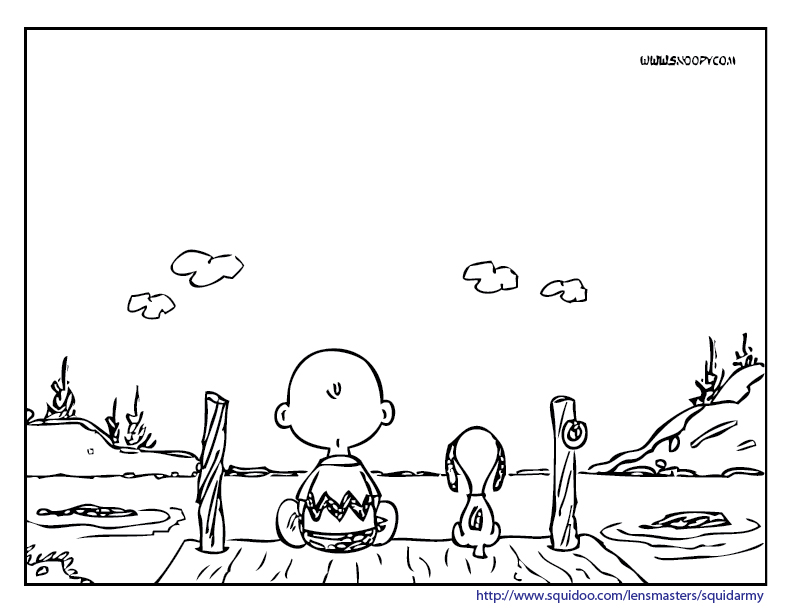 peanuts thanksgiving coloring pages printable - photo#17