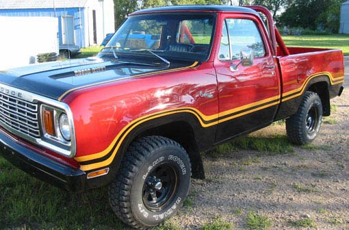 1980 Dodge Power Wagon Macho http://justacarguy.blogspot.com/2011/03/i-just-learned-of-dodge-trucks-ive.html
