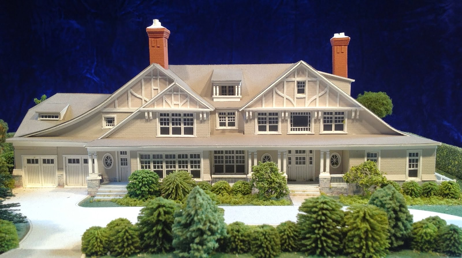Gary lawrance architectural models of hamptons houses for Houses models