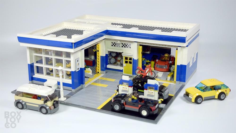 Bricktoyco Custom Lego Mocauto Garage Amp Service Station