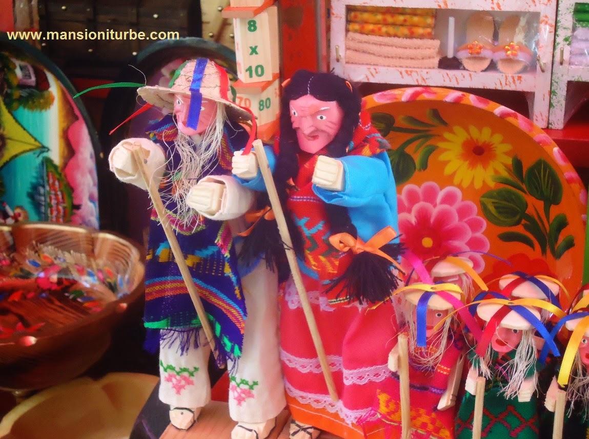 Juguetes Artesanles Michoacanos en Pátzcuaro