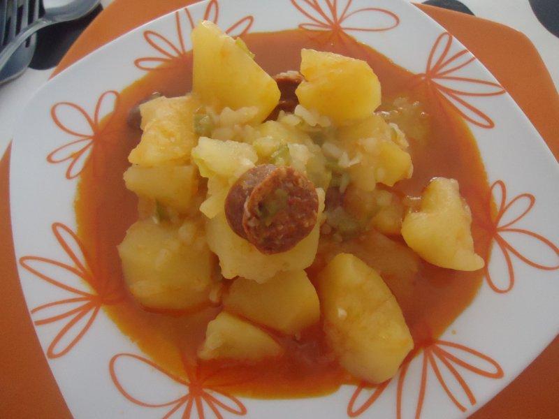 Cocina en familia patatas a la riojana for Cocina en familia