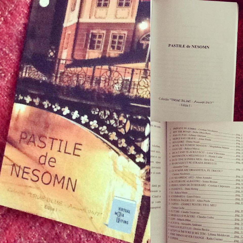 Bună, Mă Numesc Magda! apare publicat în România, alături de texte de autori de mare talent :)