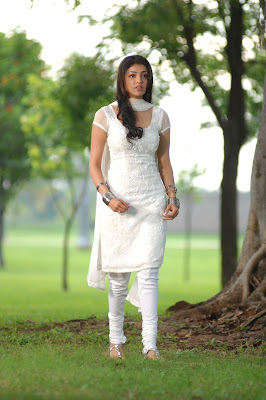 kajal agarwal in white salwar hot photoshoot
