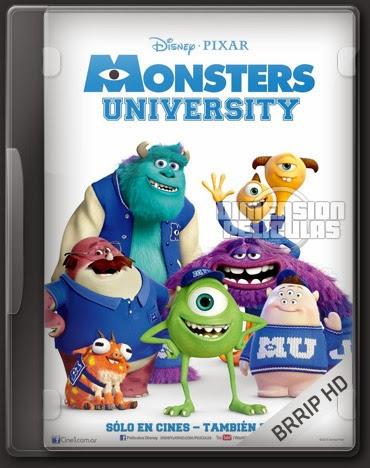 Monsters University (BRRip FULL HD Español Latino) (2013)