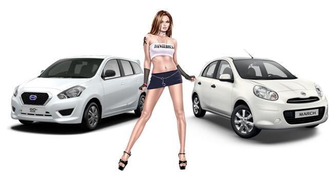 Perbedaan Mobil Datsun Go Dengan Nissan March