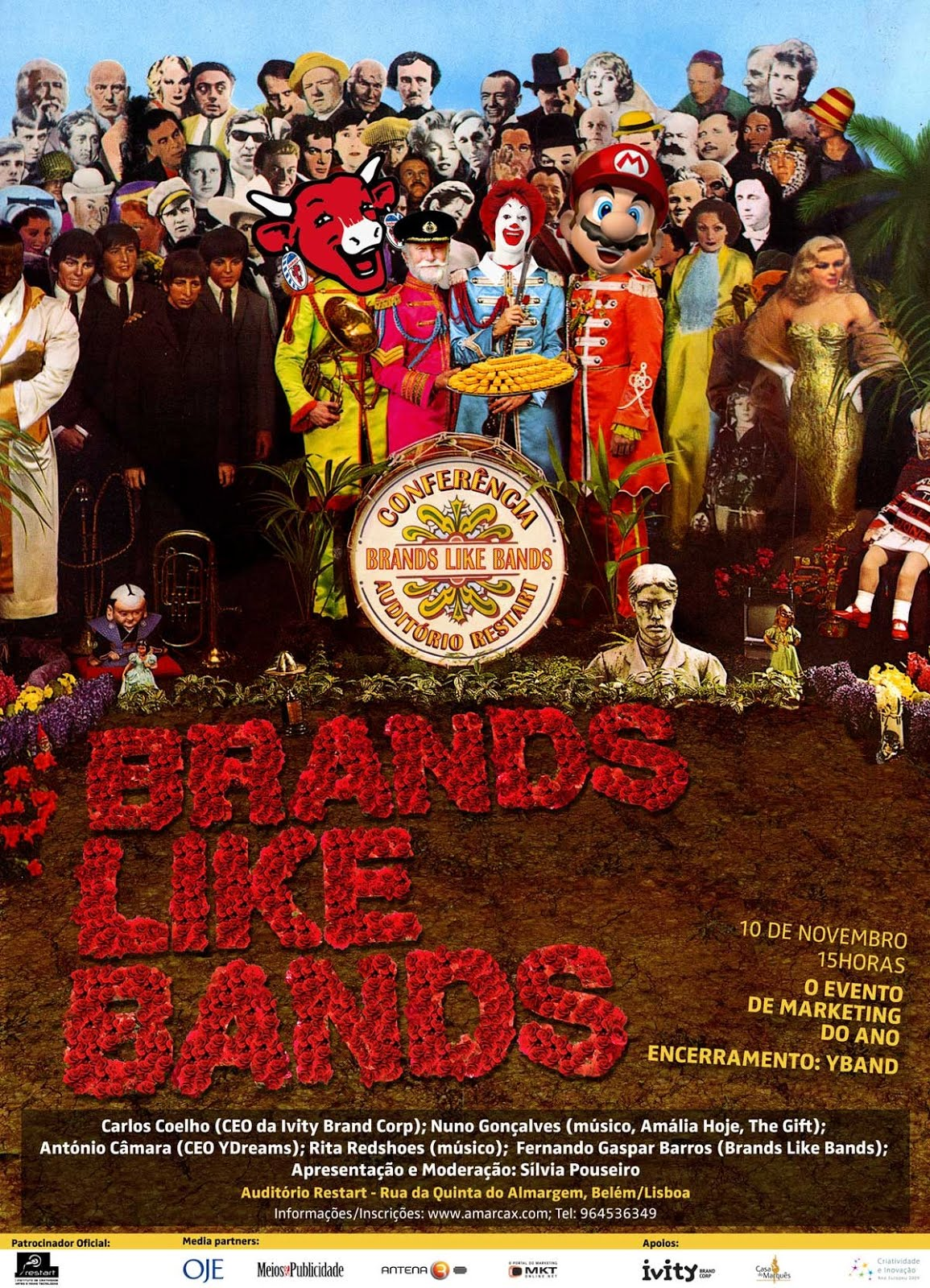 Conferências Brands Like Bands