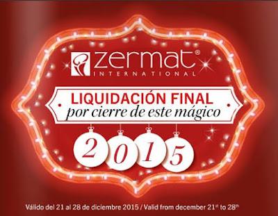 liquidacion zermat fin de año 2015